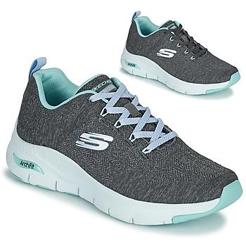 Sko Dame Lave sneakers Skechers ARCH FIT Grå / Blå