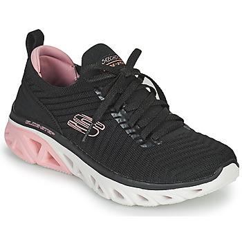 Sko Dame Lave sneakers Skechers GLIDE-STEP SPORT Sort / Pink