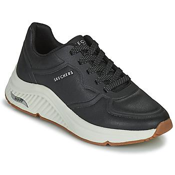 Sko Dame Lave sneakers Skechers ARCH FIT S-MILES Sort