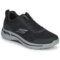 Sko Herre Lave sneakers Skechers GO WALK ARCH FIT Sort