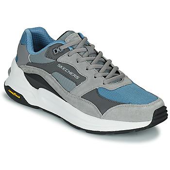 Sko Herre Lave sneakers Skechers GLOBAL JOGGER Grå / Blå