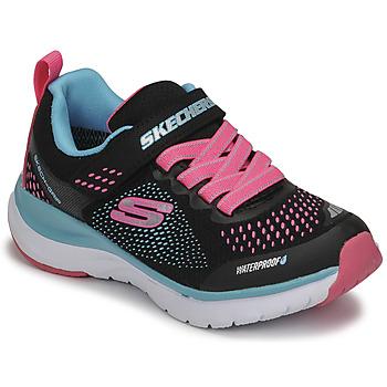 Sko Pige Lave sneakers Skechers ULTRA GROOVE Sort / Pink / Blå