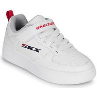 Sko Børn Lave sneakers Skechers SPORT COURT 92 Hvid