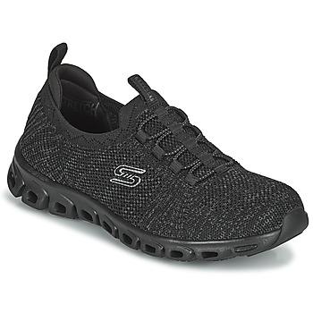 Sko Dame Lave sneakers Skechers GLIDE-STEP Sort
