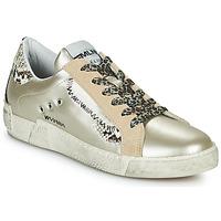 Sko Dame Lave sneakers Meline NK139 Guld / Pyton