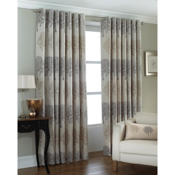 Indretning Gardiner og persienner Riva Home Taille 6: 229 x 137cm Silver
