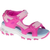 Sko Børn Sandaler Skechers Dlites Azurblå, Pink