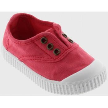 Sko Børn Lave sneakers Victoria 106627 Rød