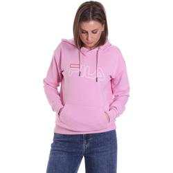 textil Dame Sweatshirts Fila 683502 Lyserød