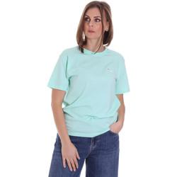textil Dame T-shirts m. korte ærmer Fila 687469 Grøn