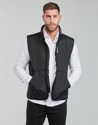 textil Herre Dynejakker Calvin Klein Jeans PADDED VEST Sort
