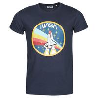 textil Herre T-shirts m. korte ærmer Yurban ONASA Marineblå