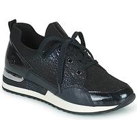 Sko Dame Lave sneakers Remonte Dorndorf ANITAS Sort / Hvid