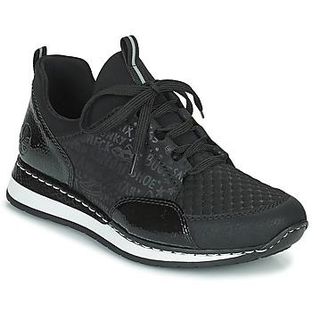 Sko Dame Lave sneakers Rieker REGARDA Sort