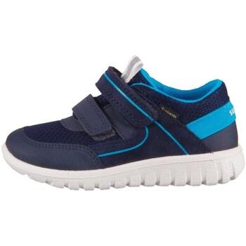 Sko Børn Lave sneakers Superfit Sport 7 Mini Blå, Flåde