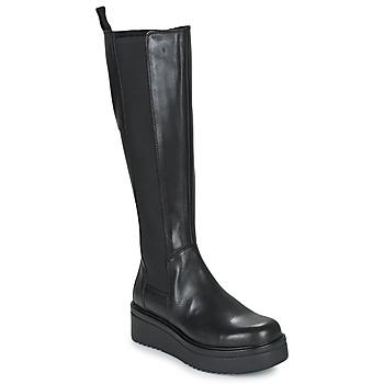 Sko Dame Chikke støvler Vagabond Shoemakers TARA Sort