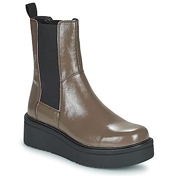 Sko Dame Støvler Vagabond Shoemakers TARA Brun / Lys