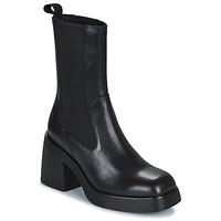 Sko Dame Høje støvletter Vagabond Shoemakers BROOKE Sort