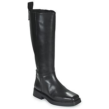 Sko Dame Chikke støvler Vagabond Shoemakers JILLIAN Sort