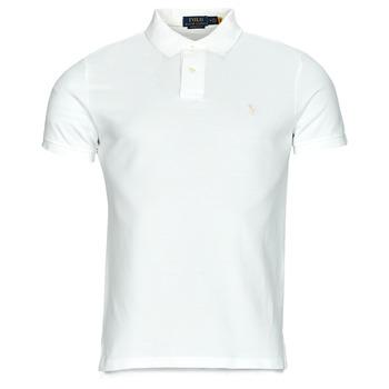 textil Herre Polo-t-shirts m. korte ærmer Polo Ralph Lauren PETRINA Hvid