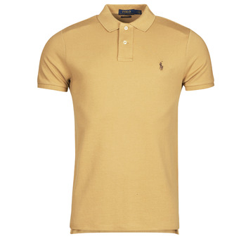 textil Herre Polo-t-shirts m. korte ærmer Polo Ralph Lauren PETRINA Kamel
