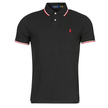 textil Herre Polo-t-shirts m. korte ærmer Polo Ralph Lauren CALMIRA Sort