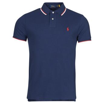 textil Herre Polo-t-shirts m. korte ærmer Polo Ralph Lauren CALMIRA Blå