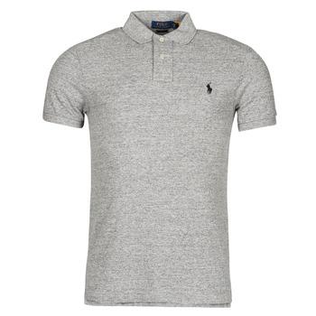 textil Herre Polo-t-shirts m. korte ærmer Polo Ralph Lauren DOLINAR Grå