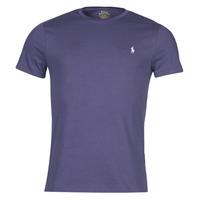 textil Herre T-shirts m. korte ærmer Polo Ralph Lauren OLITA Blå