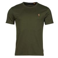 textil Herre T-shirts m. korte ærmer Polo Ralph Lauren TEKAMO Kaki