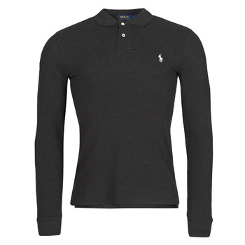 textil Herre Polo-t-shirts m. lange ærmer Polo Ralph Lauren MOLINA Sort