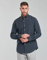 textil Herre Skjorter m. lange ærmer Polo Ralph Lauren RENIMA Grøn / Blå