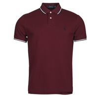 textil Herre Polo-t-shirts m. korte ærmer Polo Ralph Lauren HOULIA Bordeaux