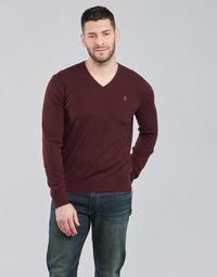textil Herre Pullovere Polo Ralph Lauren SOLIMMA Bordeaux