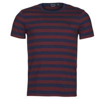 textil Herre T-shirts m. korte ærmer Polo Ralph Lauren POLINE Marineblå / Bordeaux