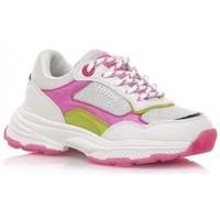 Sko Pige Lave sneakers MTNG DEPORTIVAS NIÑA MUSTANG BEIGE 48201 Hvid