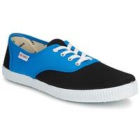 Sko Lave sneakers Victoria INGLESA BICOLOR Blå / Sort