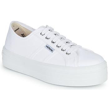 Lave sneakers Victoria BLUCHER LONA PLATAFORMA