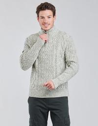 textil Herre Pullovere Superdry JACOB HENLEY Grå