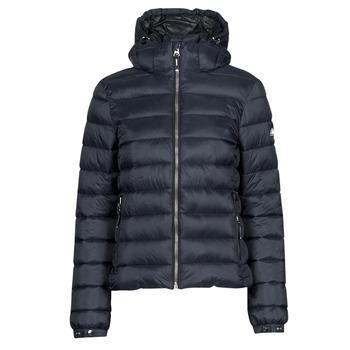 textil Dame Dynejakker Superdry CLASSIC FUJI PUFFER JACKET Blå