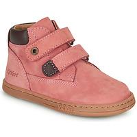 Sko Pige Støvler Kickers TACKEASY Pink