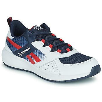 Sko Dreng Lave sneakers Reebok Sport ROAD SUPREME Hvid / Marineblå / Rød