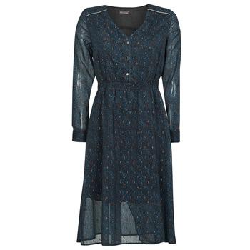 textil Dame Lange kjoler Chattawak MAGNOLIA Marineblå