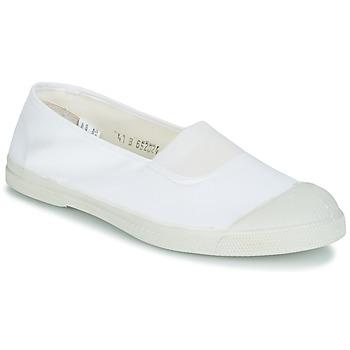 Sko Dame Lave sneakers Bensimon TENNIS ELASTIQUE Hvid