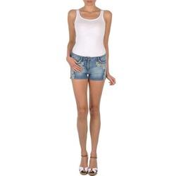 textil Dame Shorts Brigitte Bardot JUE Blå