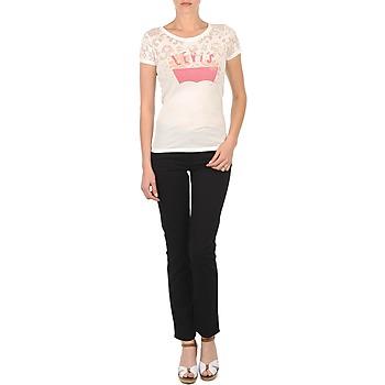 textil Dame Smalle jeans Levi's CL DC SLIM 5 PKT Sort