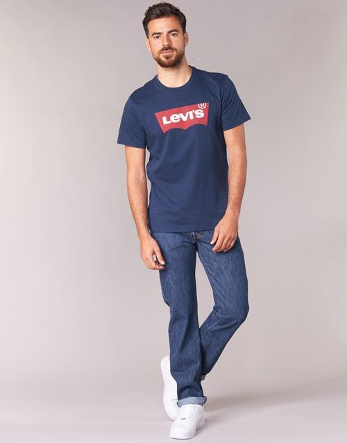 textil Herre Lige jeans Levi's 501 LEVIS ORIGINAL FIT Blå