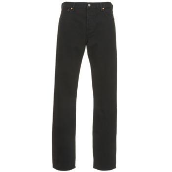 textil Herre Lige jeans Levi's 501 LEVIS ORIGINAL FIT Sort / 80701