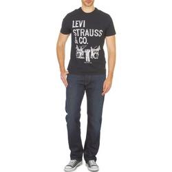 textil Herre Lige jeans Levi's 504 SORT