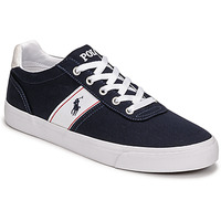 Sko Lave sneakers Polo Ralph Lauren HANFORD RECYCLED CANVAS Marineblå